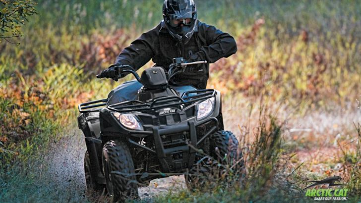 2013 Arctic Cat 300,  the Small-Displacement Off-Road Toy