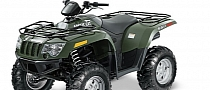 2013 Arctic Cat 550 Core, Zero-Frills ATV Performance