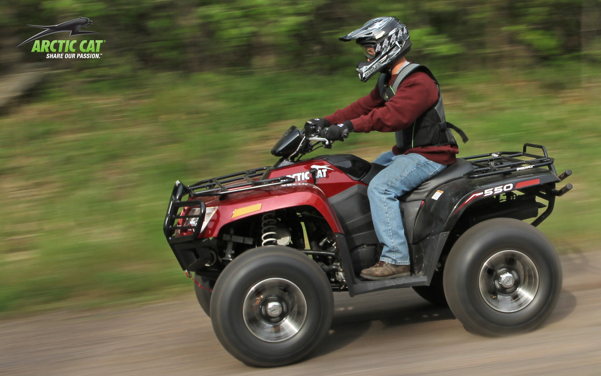 2013 arctic cat 550 limited  a middleweight recreational machine