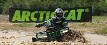 2013 Arctic Cat MudPro 700, Charge into the Swamps!