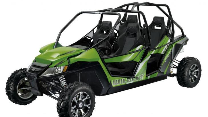 2013 Arctic Cat Shows the Wildcat 4