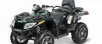 2013 Arctic Cat TRV 550 XT, Two-Up Off-Road Basics
