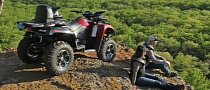 2013 Arctic Cat TRV 700 XT, Two-Up Trail Convenience