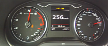 2013 Audi A3 1.8 TFSI Top Speed and Acceleration Tests [Video]