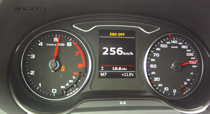 2013 Audi A3 1.8 TFSI Top Speed and Acceleration Tests - autoevolution