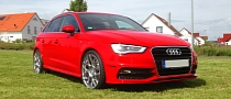 2013 Audi A3 Sportback on HRE Wheels