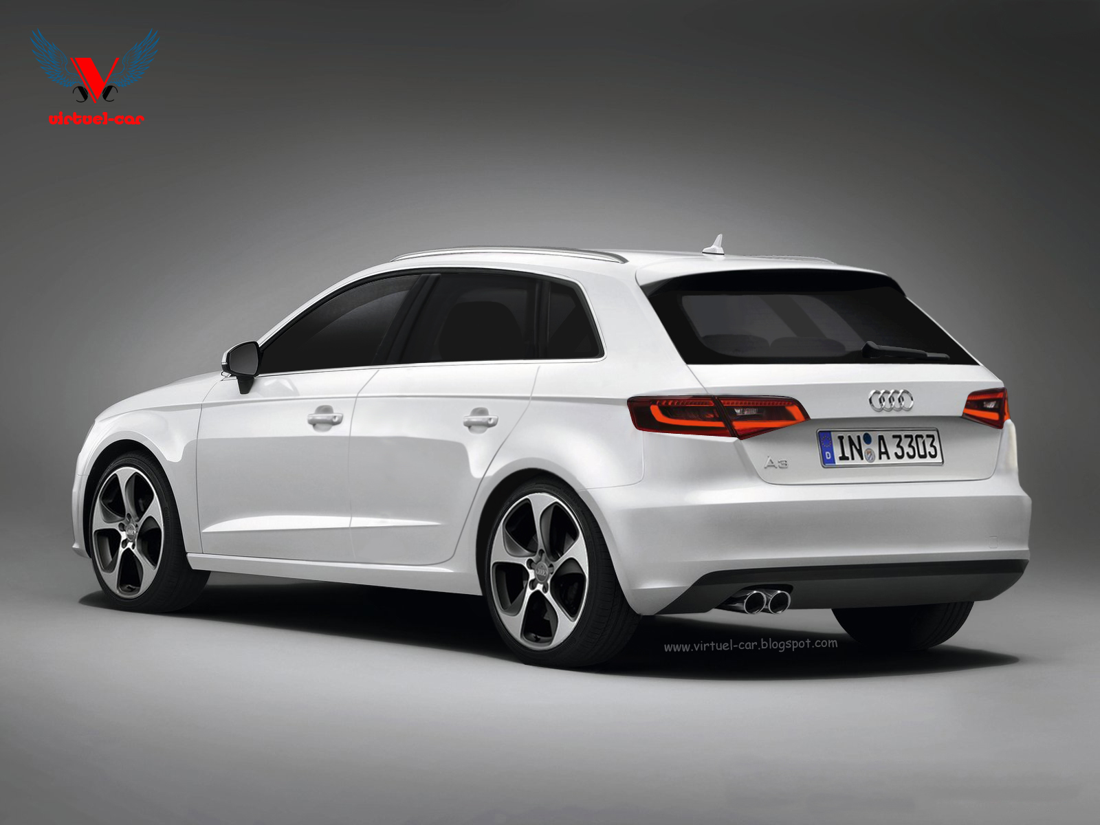 Audi Los Angeles >> 2013 Audi A3 Sportback Rendering - autoevolution