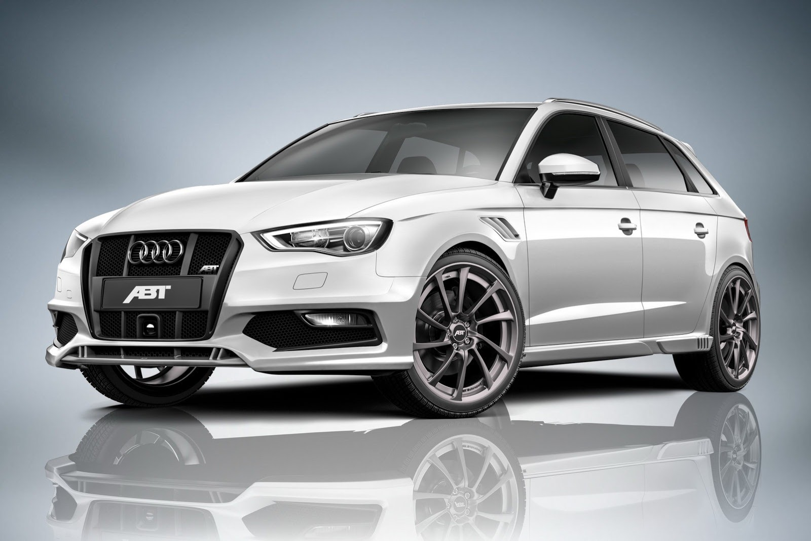 2013 audi a3 sportback tuned by abt autoevolution. Black Bedroom Furniture Sets. Home Design Ideas