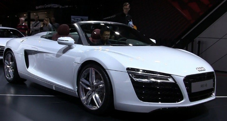 2013 Audi R8 Facelift Revealed in Paris [Video]