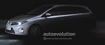 2013 Auris Tourer Teased ahead of Paris Unveiling