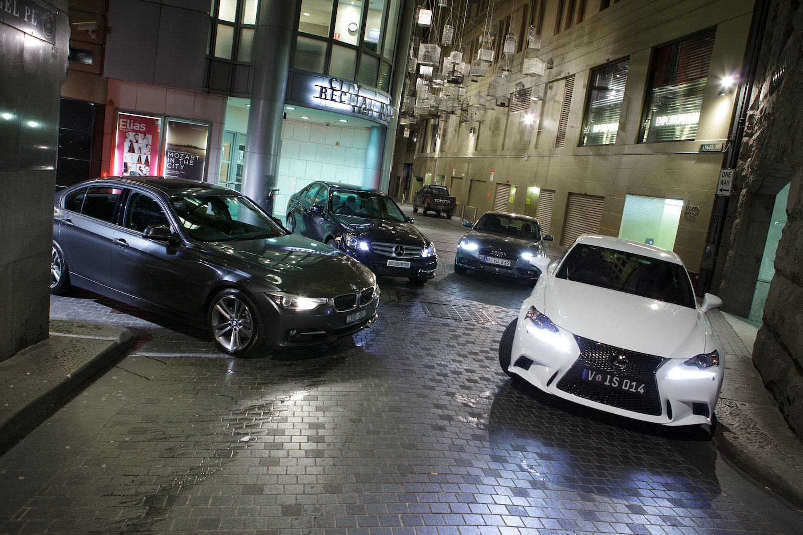 Lexus Vs Mercedes and BMW models