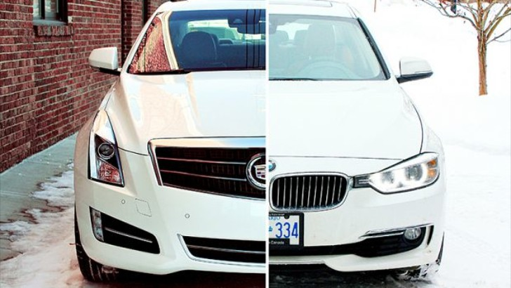 2013 BMW 328i xDrive vs 2013 Cadillac ATS 2.0T by Autos.ca