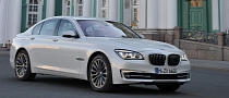 2013 BMW 7-Series Facelift to Debut in Paris