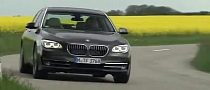 2013 BMW 7-Series Facelift Promo Clip Released [Video]
