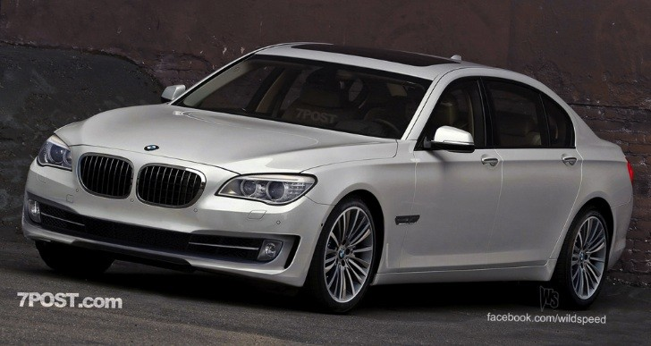 2013 BMW 7-Series LCI Facelift Rendering