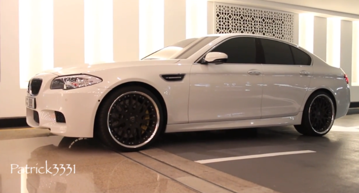 2013 BMW F10 M5 with Hamann Rims Hails from Dubai [Video]