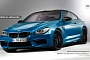 2013 BMW M6 on ADV.1 Wheels [Rendering]