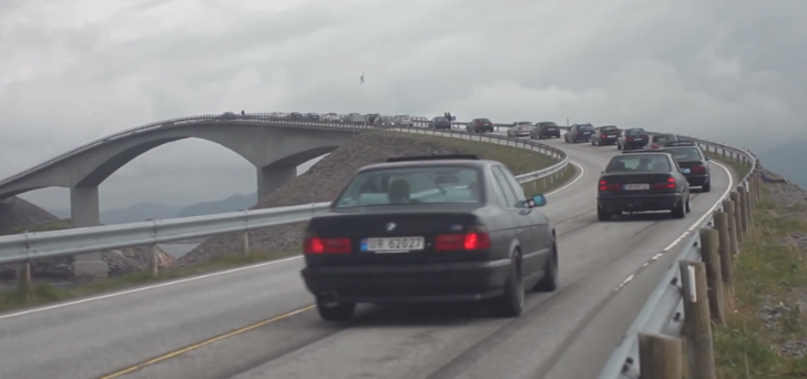 2013 BMW Meet at GS Bildeler Goes Over the Atlantic Road [Video]