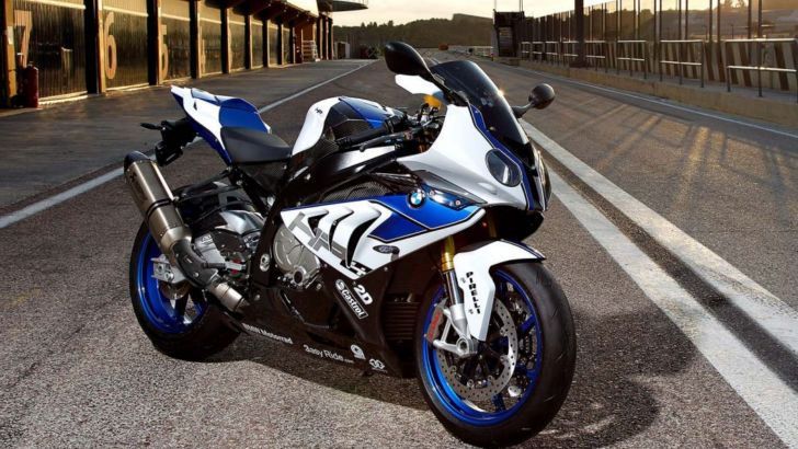 2013 BMW S1000RR HP4 Already Selling in the UK