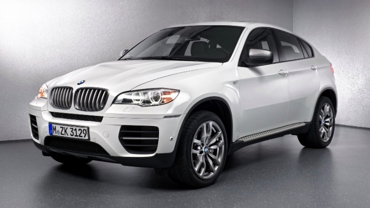2013 BMW X6 M50d Equipment List Revealed