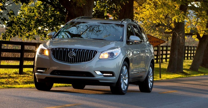 2013 Buick Enclave Brings Old Customers Back with New Features