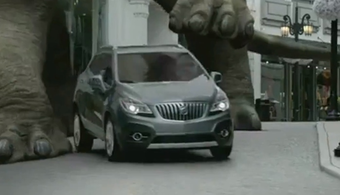 2013 Buick Encore First Commercial Dinosaur Autoevolution