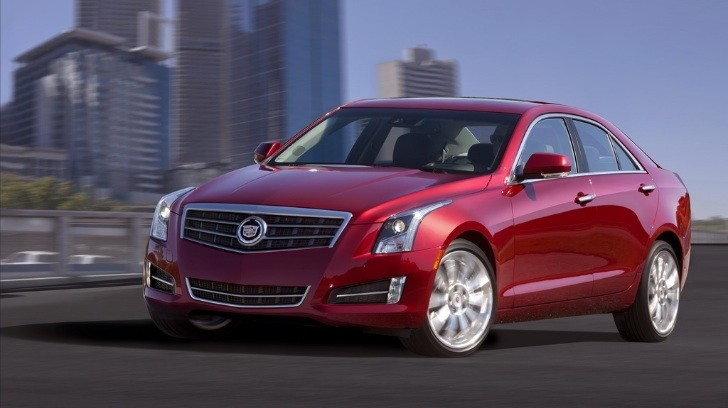 2013 Cadillac ATS Unveiled in Detroit [Photo Gallery]