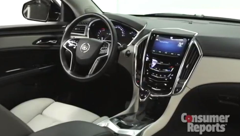 trend first news cadillac en motor front look srx view