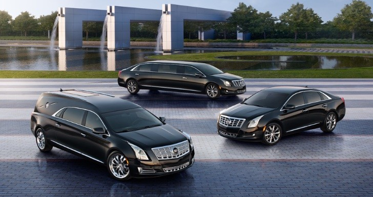 2013 Cadillac XTS Livery, Limousine and Hearse Versions Revealed