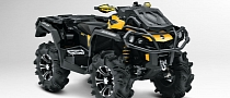 2013 Can-Am Outlander 1000 X mr, the Ultimate Mud Racing Machine?