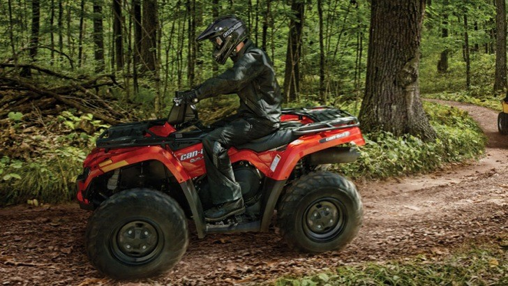 2013 Can-Am Outlander 500, Simplicity at Its Best