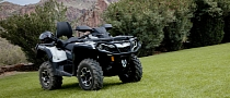 2013 Can-Am Outlander MAX 1000 Limited, Off-Road Luxury and Brawn [Photo Gallery]