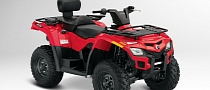 2013 Can-Am Outlander MAX 400, the Middleweight-Displacement Two-Up ATV