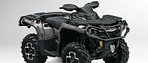 2013 Can-Am Outlander XT ATVs Are Good and Look Evil [Photo Gallery]