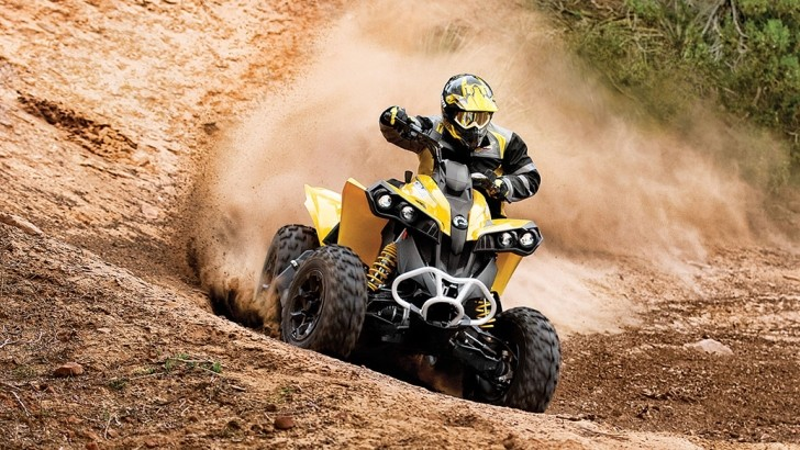 2013 Can-Am Renegade 1000, Liter-Class Off-Road Aggression