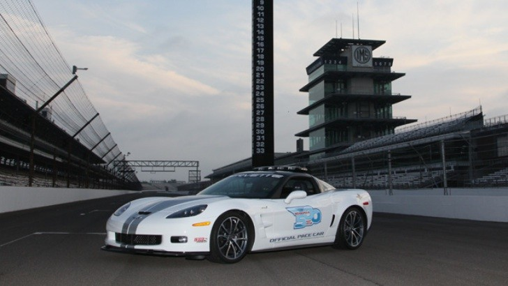 2013 Chevrolet Corvette ZR1 to Pace Indianapolis 500