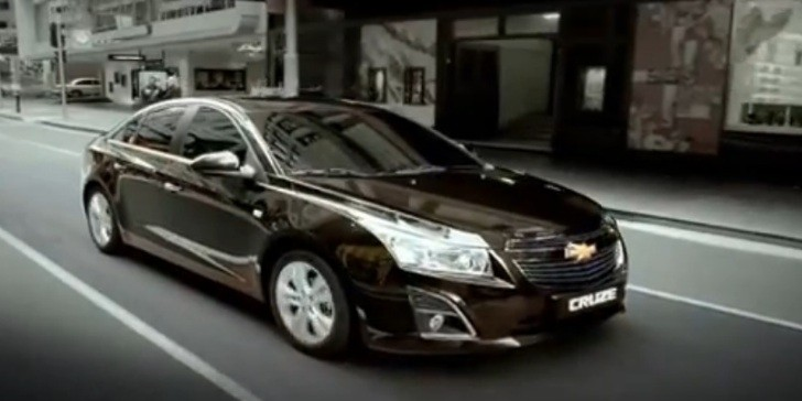 2013 Chevrolet Cruze Facelift Unveiled in Korea [Video]