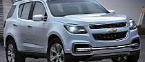 2013 Chevrolet TrailBlazer Unveiled in Pre-Production Form