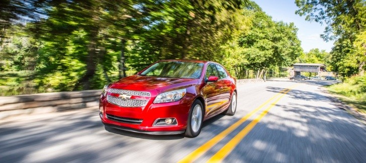 2013 Chevy Malibu Turbo EPA Ratings