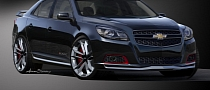 2013 Chevy Malibu Turbo Performance Concept Coming to 2012 SEMA