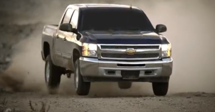 2013 Chevy Silverado 1500 Drifts and Jumps: Promoting Warranty [Video]