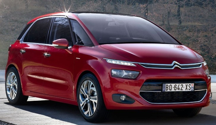 2013 Citroen C4 Picasso First Official Photos Leaked