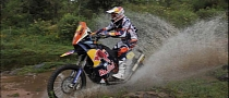 2013 Dakar: Despres Takes Stage 9, Casteu Retires after Crasing Hard [Video]