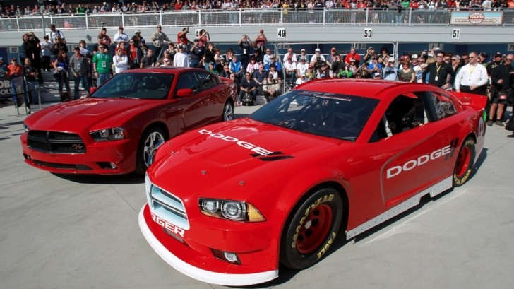 2013 Dodge Charger Sprint Cup Race Car Revealed