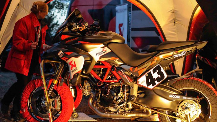 2013 Ducati Multistrada 1200 S Pikes Peak Racing Bike XXX [Photo Gallery]
