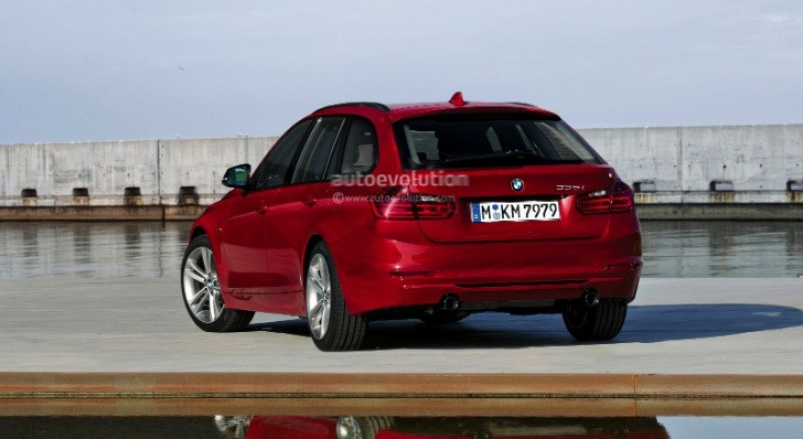 2013 F31 BMW 3-Series Touring Rendering