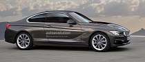 2013 F32 BMW 4-Series Coupe Rendering