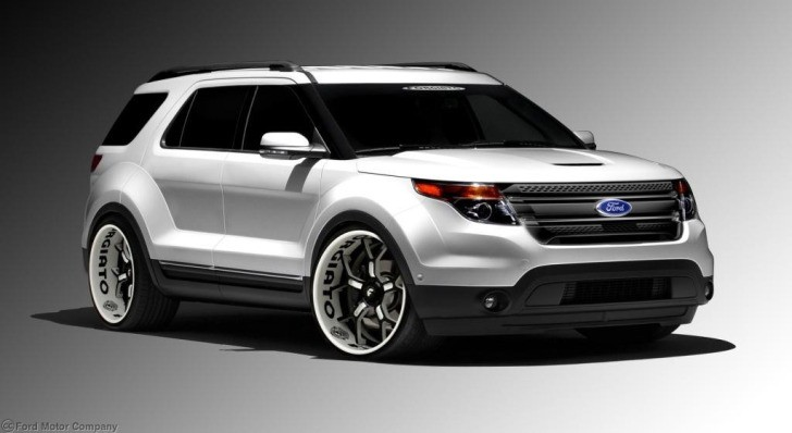 2013 Ford Explorer by Forgiato Coming to 2012 SEMA