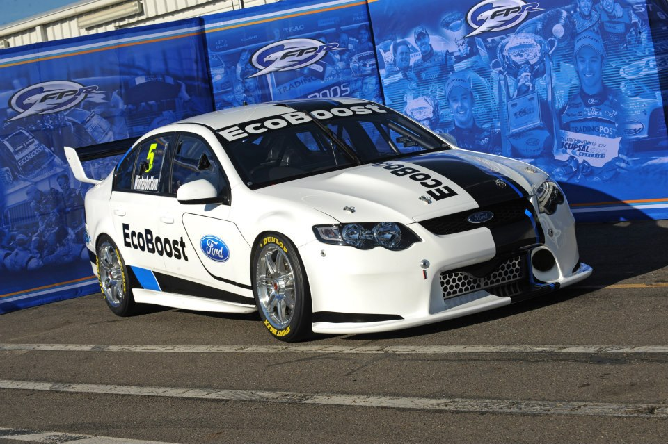 2013 ford falcon race car for v8 supercars unveiled. Black Bedroom Furniture Sets. Home Design Ideas