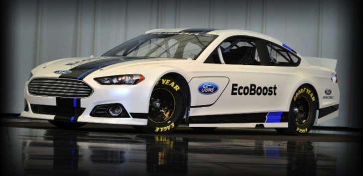2013 Ford Fusion NASCAR Sprint Cup Car Unveiled